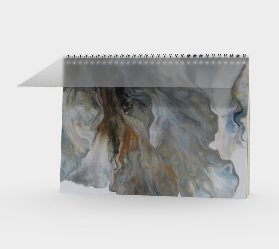 Aperçu de Nuages d'automne - Carnet spirale(paysage)