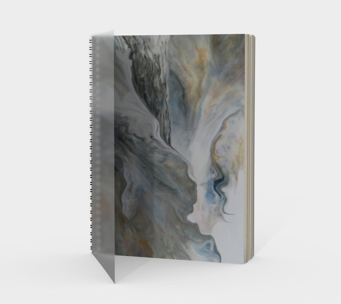Aperçu de Nuages d'automne - Carnet spirale(portrait)