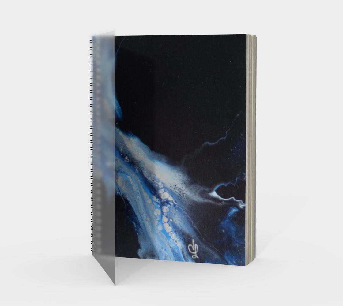 Aperçu de Flambée bleue - Carnet/spirale(portrait)