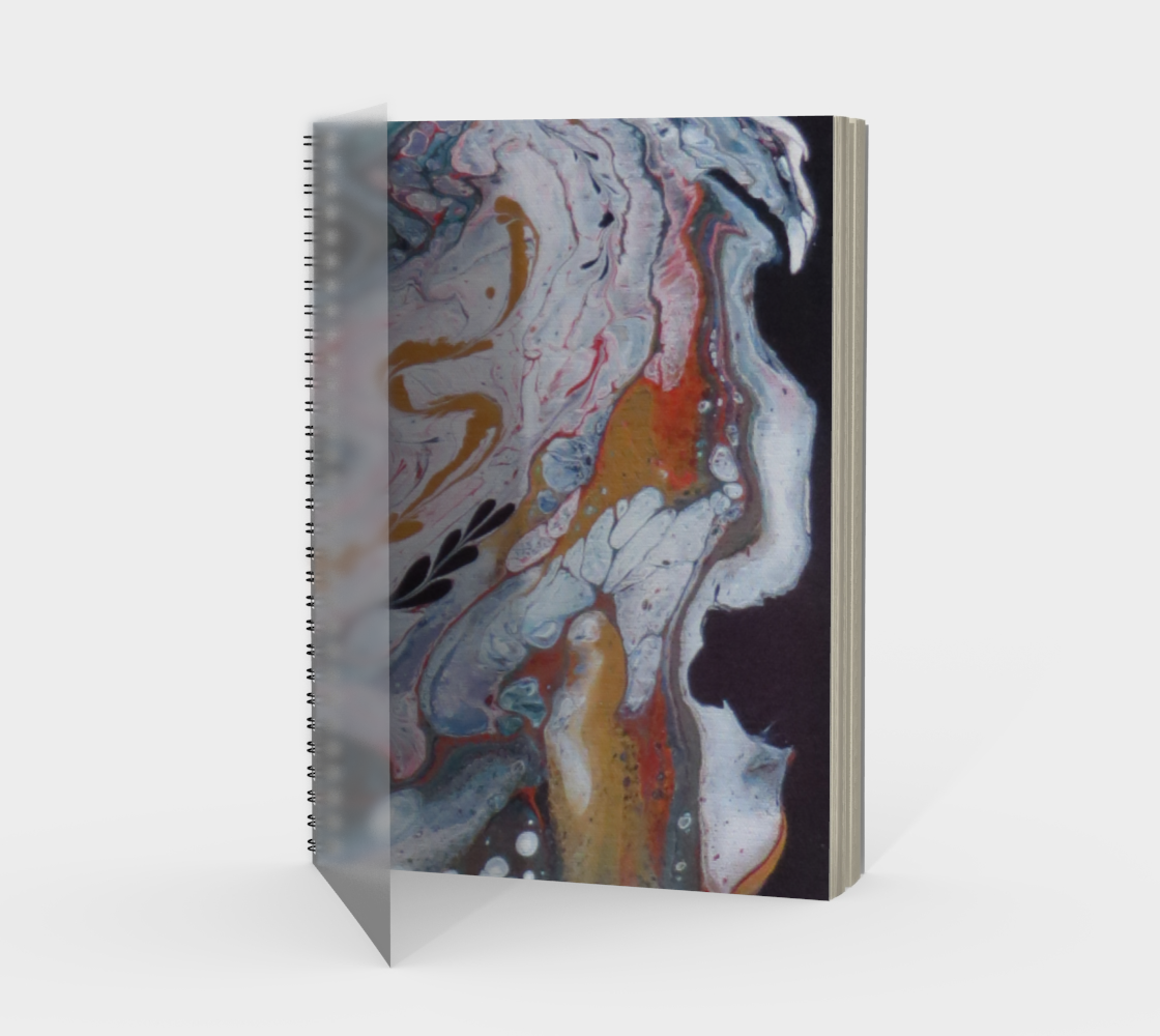 Aperçu de Transmutation atomique - Carnet/spirale(portrait)