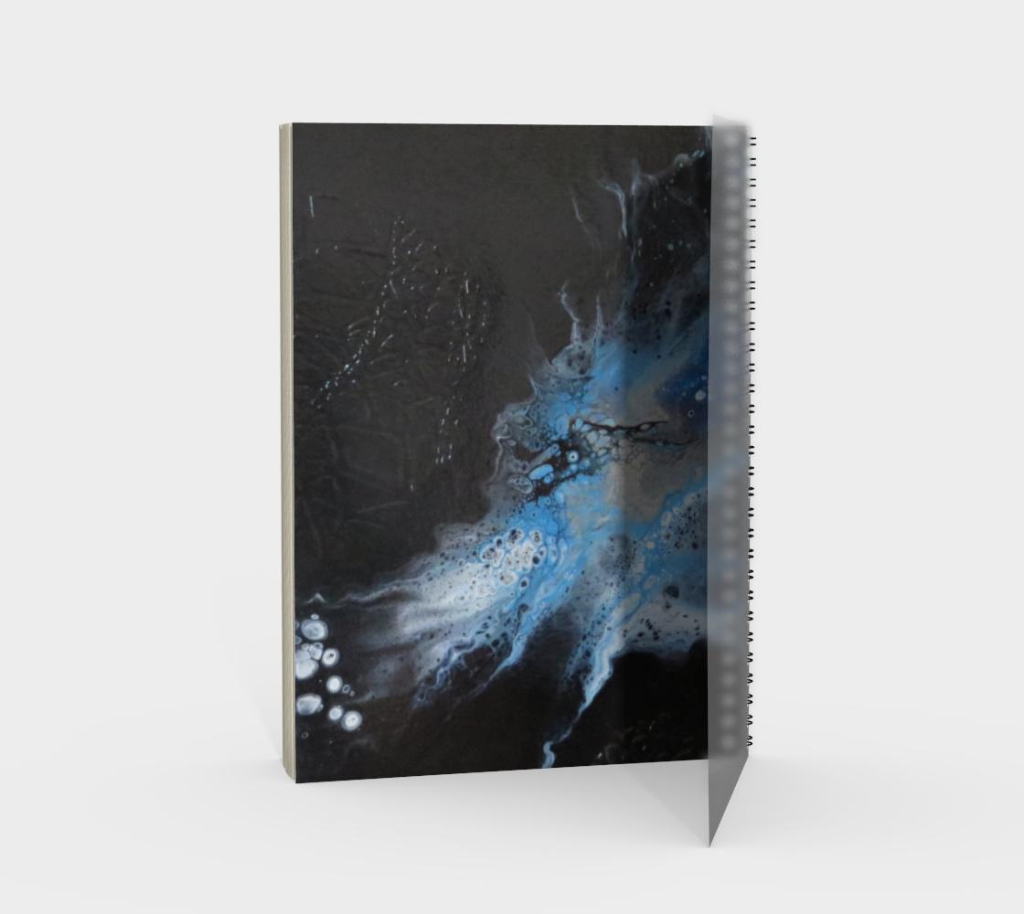 Aperçu de Les eaux déchainées - Carnet/spirale(portrait) #2