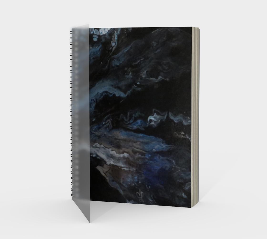 Aperçu de Les eaux déchainées - Carnet/spirale(portrait) #1