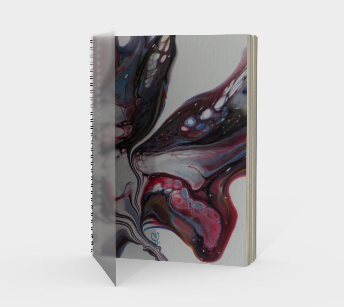 Aperçu de Fleur sauvage - Carnet/spirale(portrait)