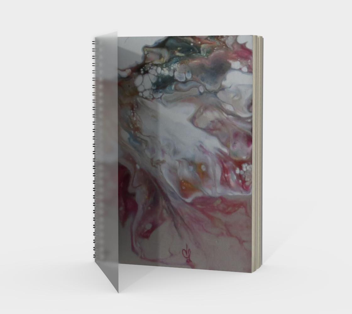 Aperçu de Aux couleurs de L'Amadou - Carnet/spirale(portrait)
