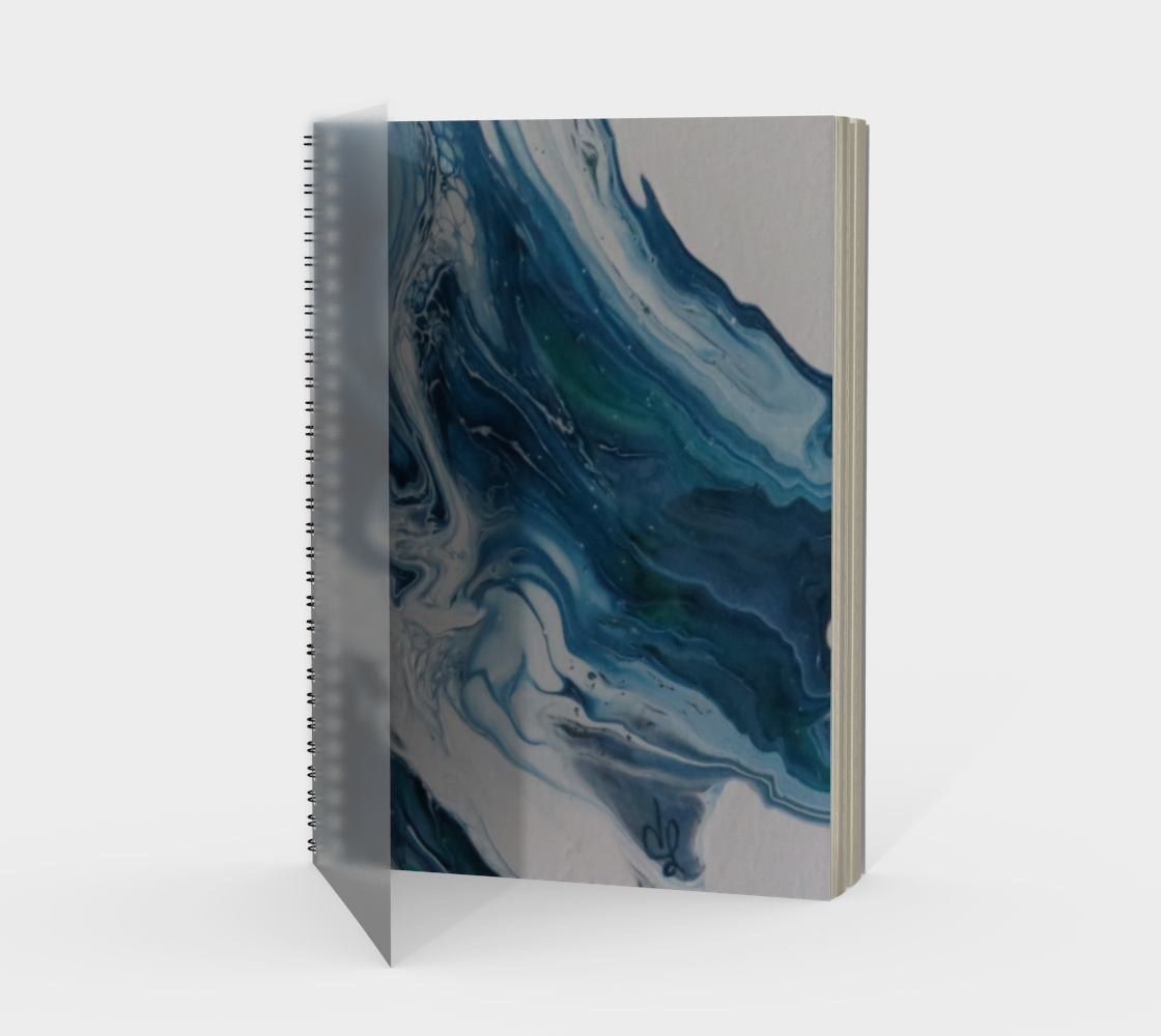 Aperçu de Écume de mer - Carnet/spirale(portrait)