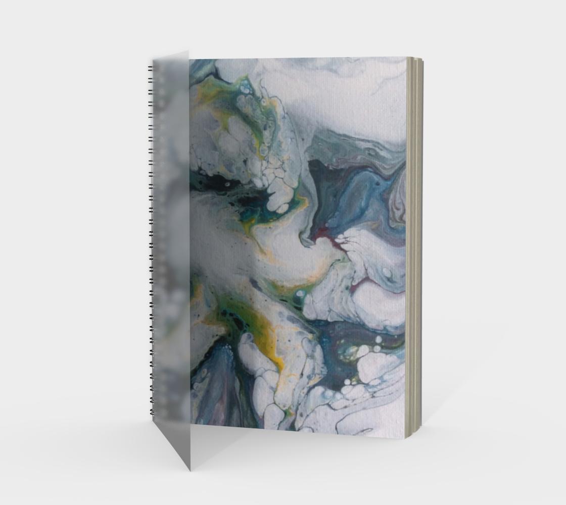 Aperçu de Le lys des glaces - Carnet/spirale(portrait)
