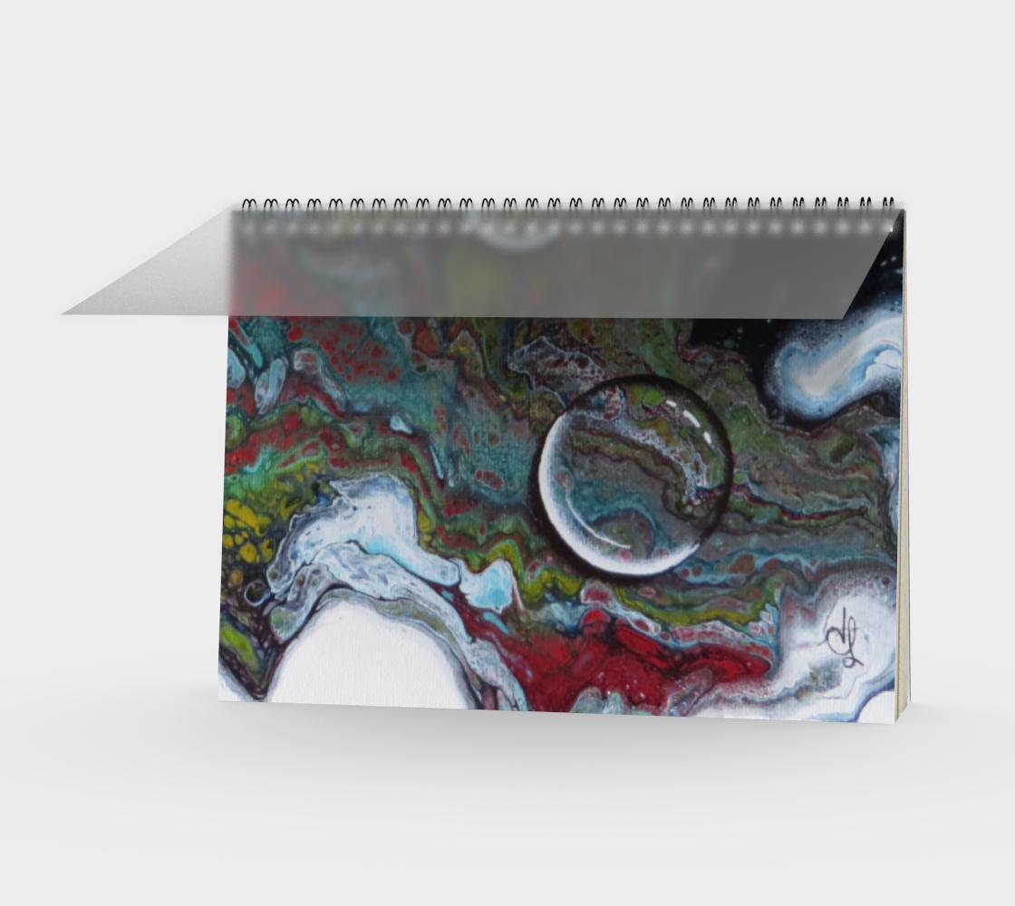 Aperçu de Gouttes d'eau - Carnet/spirale(Paysage)