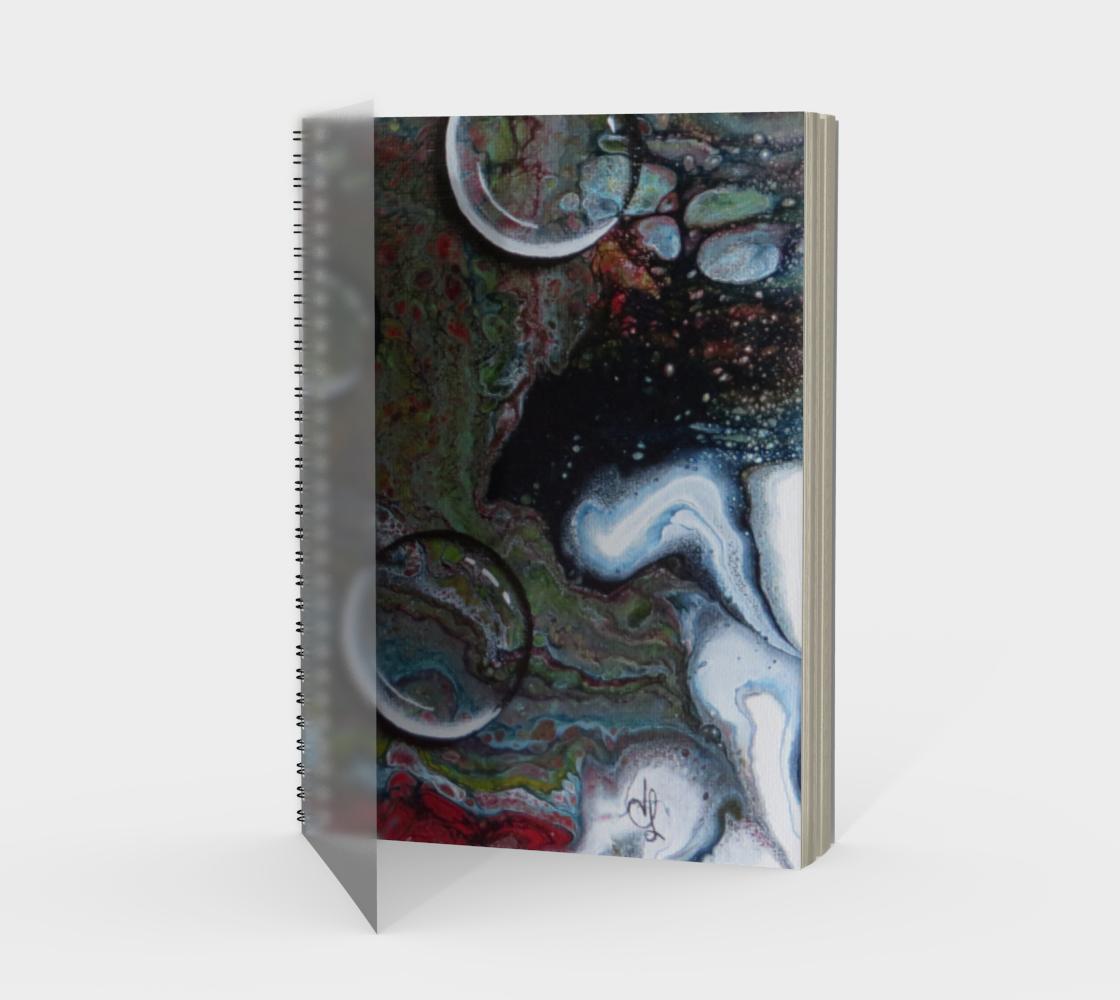 Aperçu de Gouttes d'eau - Carnet/spirale(Portrait)