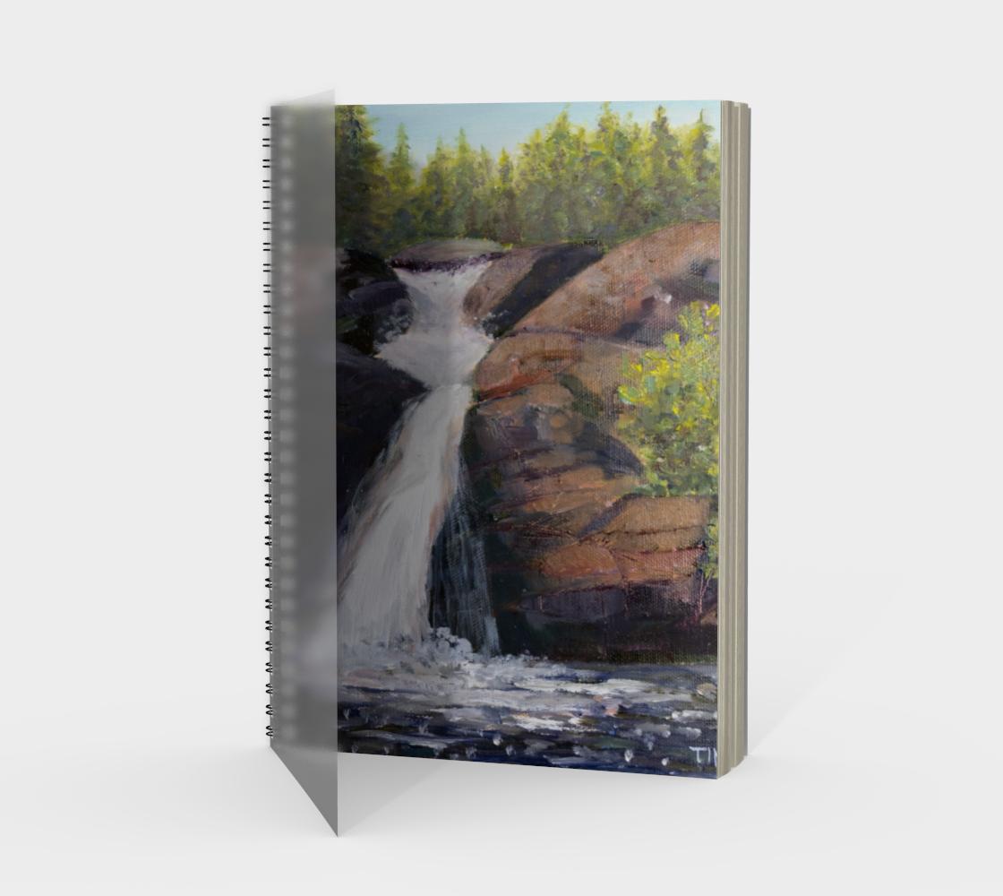 Aperçu de Waterfall Painting Sketch Book