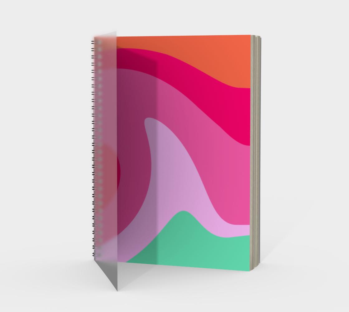 Bright Colour Swirl preview