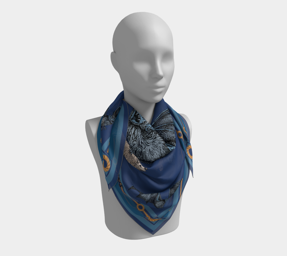 Halloween Scarf preview #3