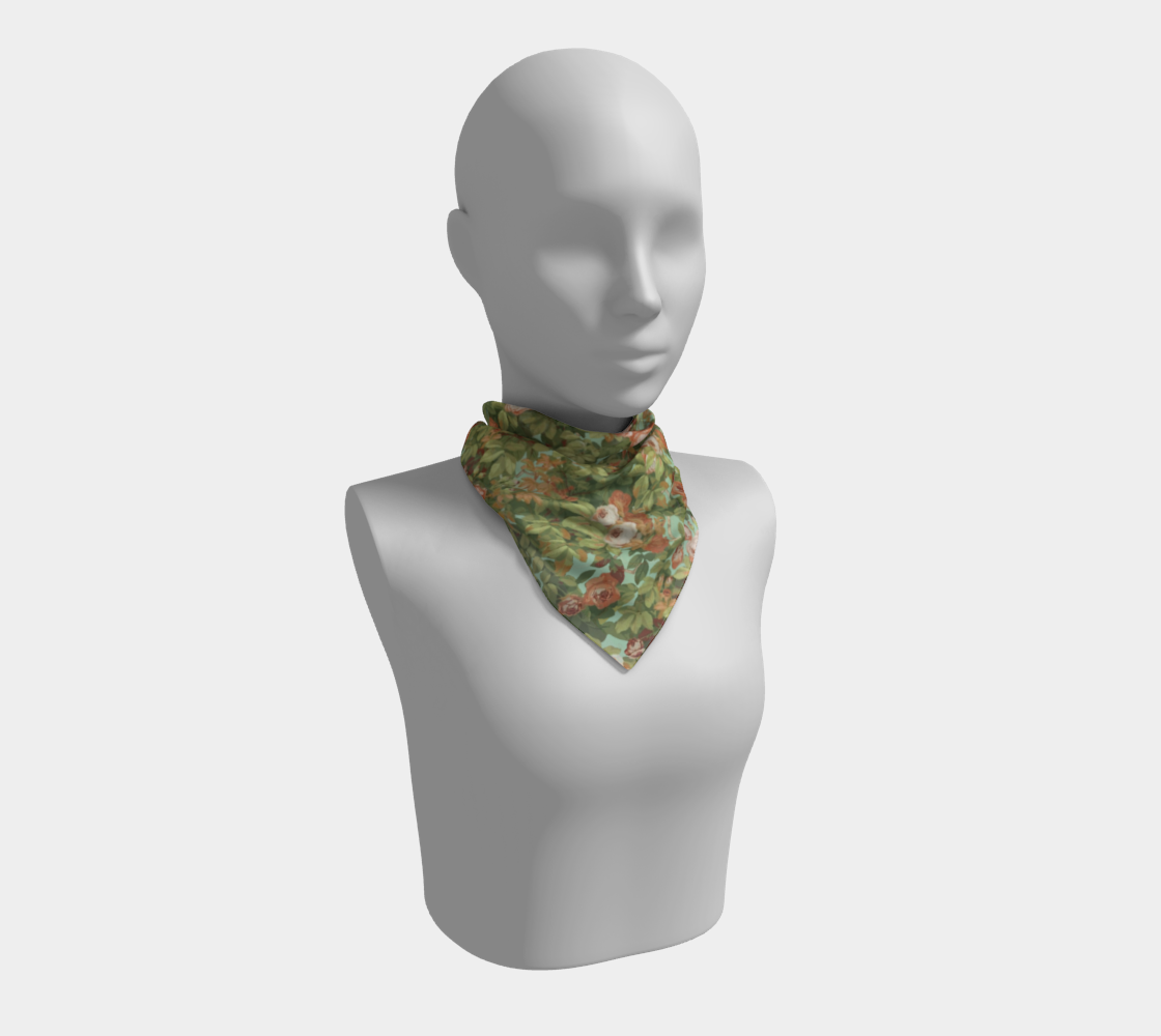 Roses Scarf II preview