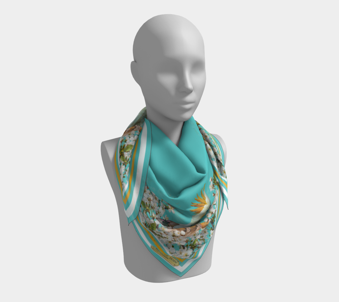 Cockatoo Scarf preview #3