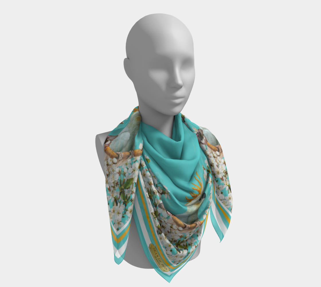 Cockatoo Scarf preview #4
