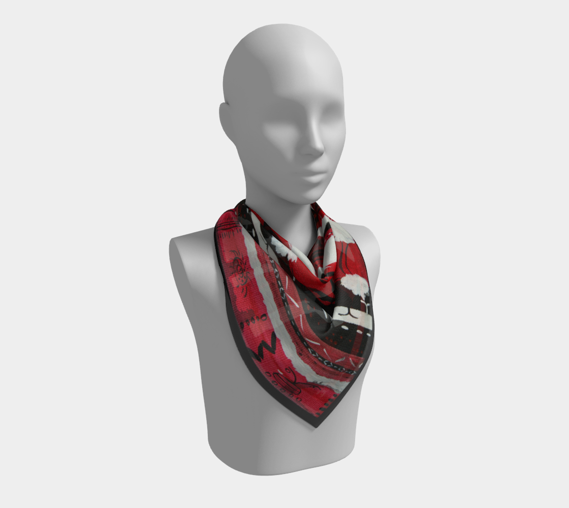 Snow Falling Regalia Inspired Scarf preview #2
