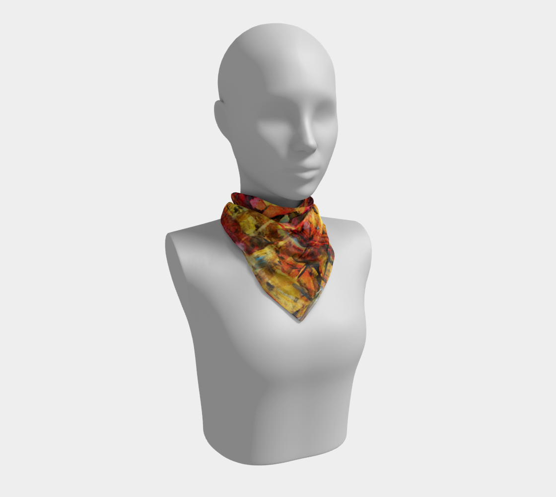 Party Time scarf preview