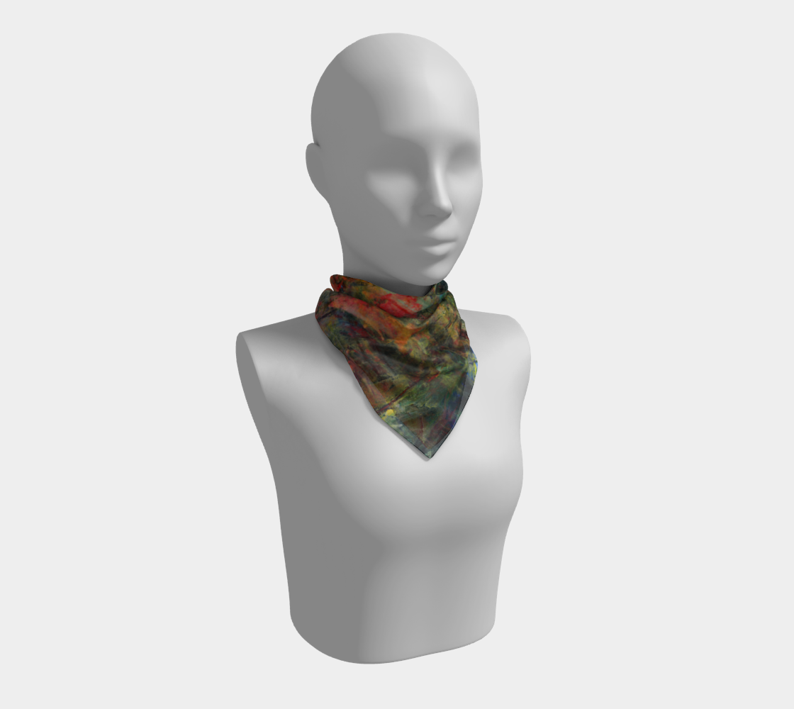 Abstract Garden Scarf preview