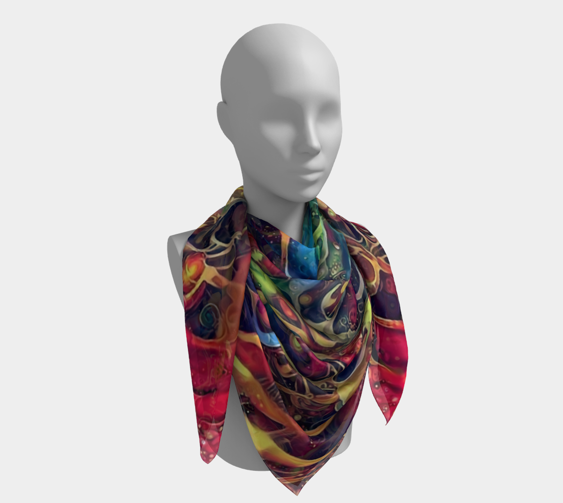 On The Fringe Square Scarf preview #4