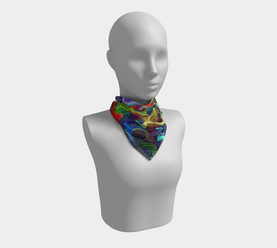 Floating Square Scarf preview