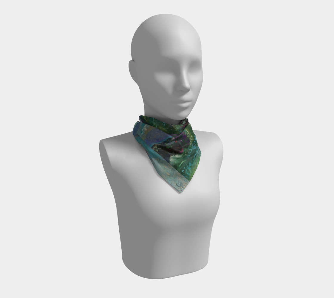 Night Waves Multi-Print Square Scarf preview