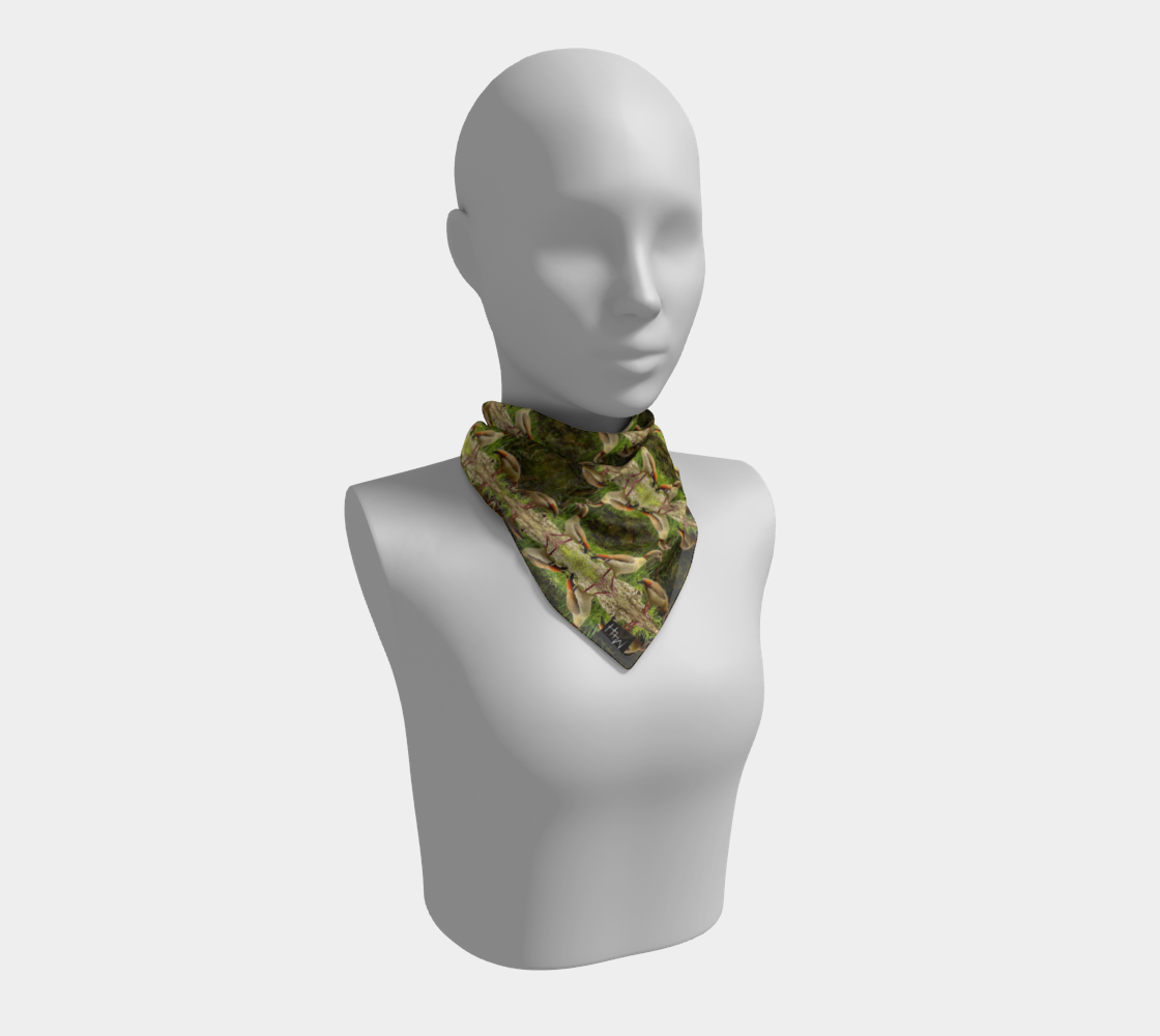 Egyptian Geese 2 Square Scarf preview