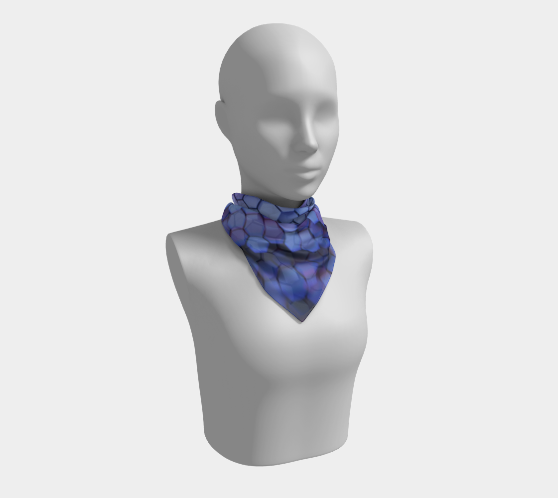 Aperçu de Hexagone bleu