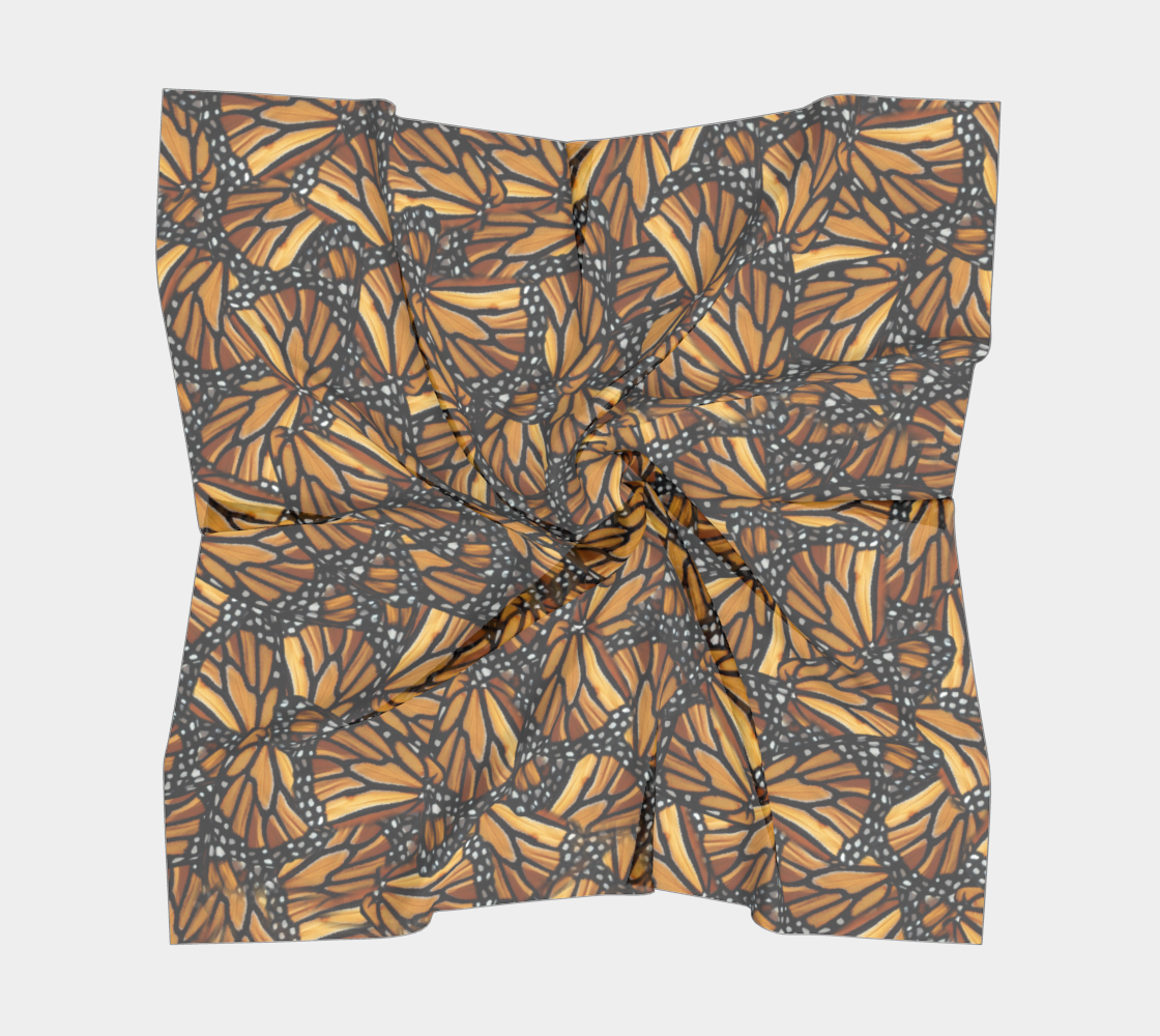 Monarch Butterfly Wing Mosaic Pattern preview #5