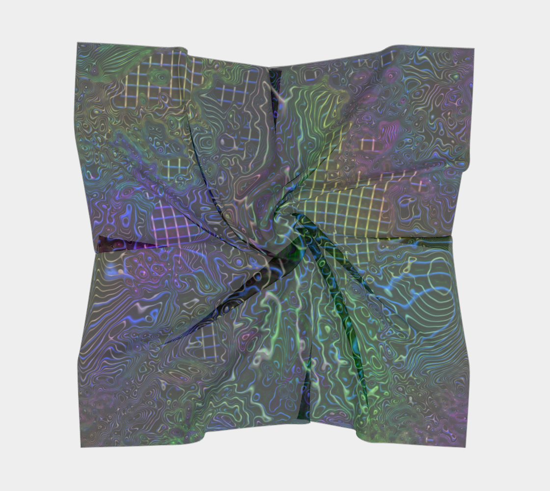 Melted Mesh Wire Grunge preview #5