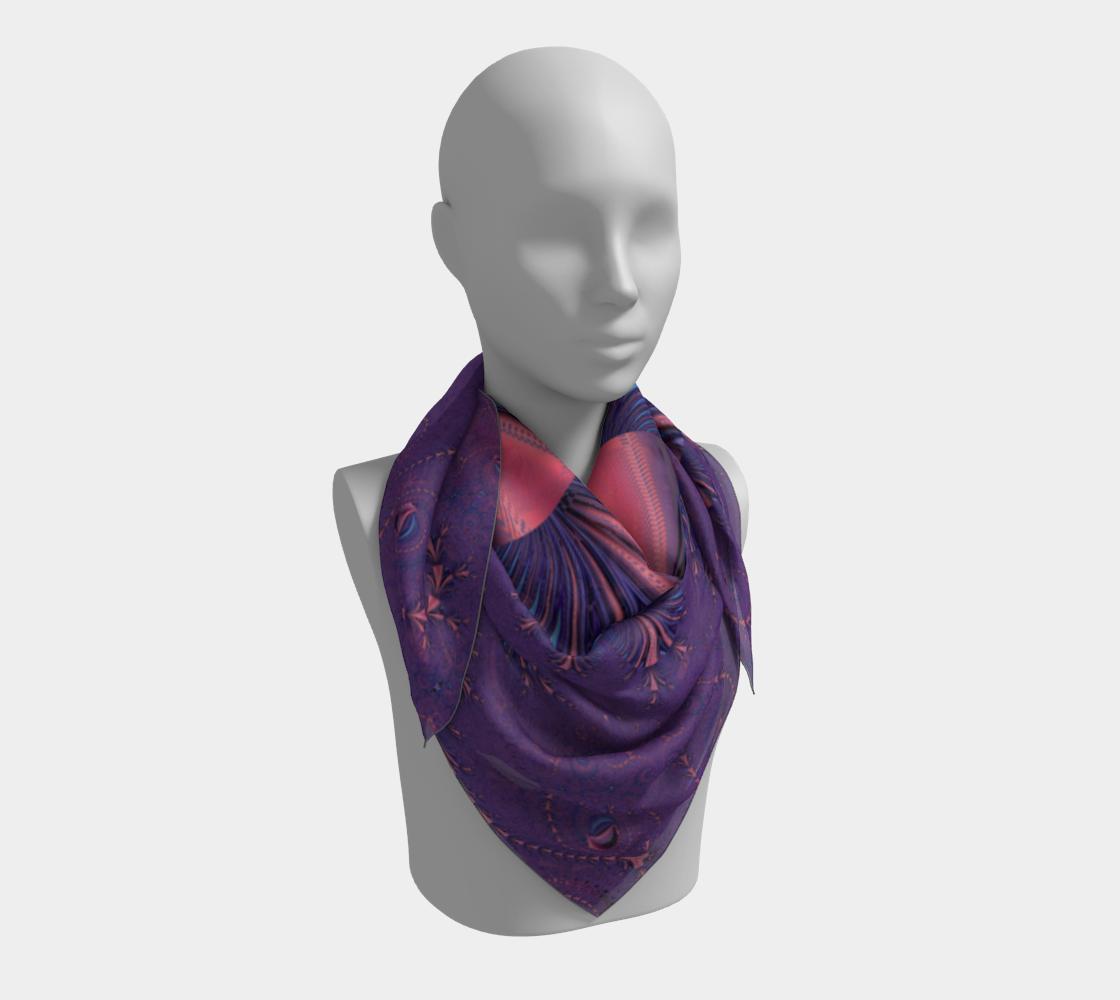 Purple Floral Flourish Stylish Design preview #3