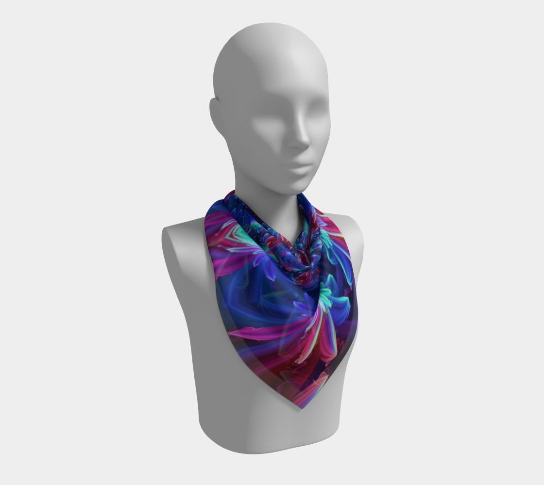 Flower Focus Scarf preview #2