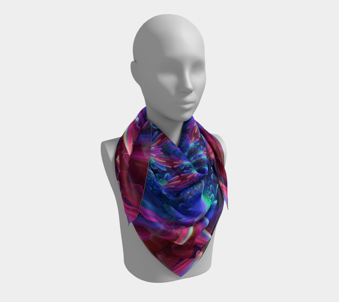 Flower Focus Scarf preview #3