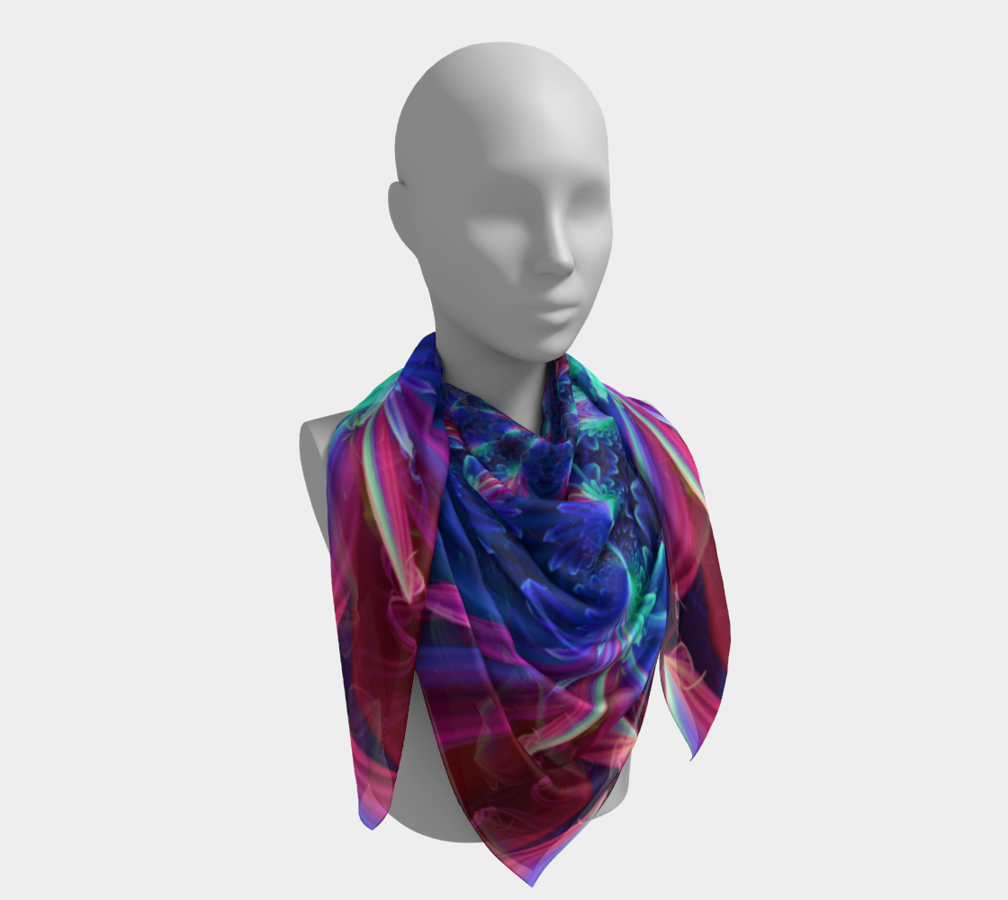 Flower Focus Scarf preview #4