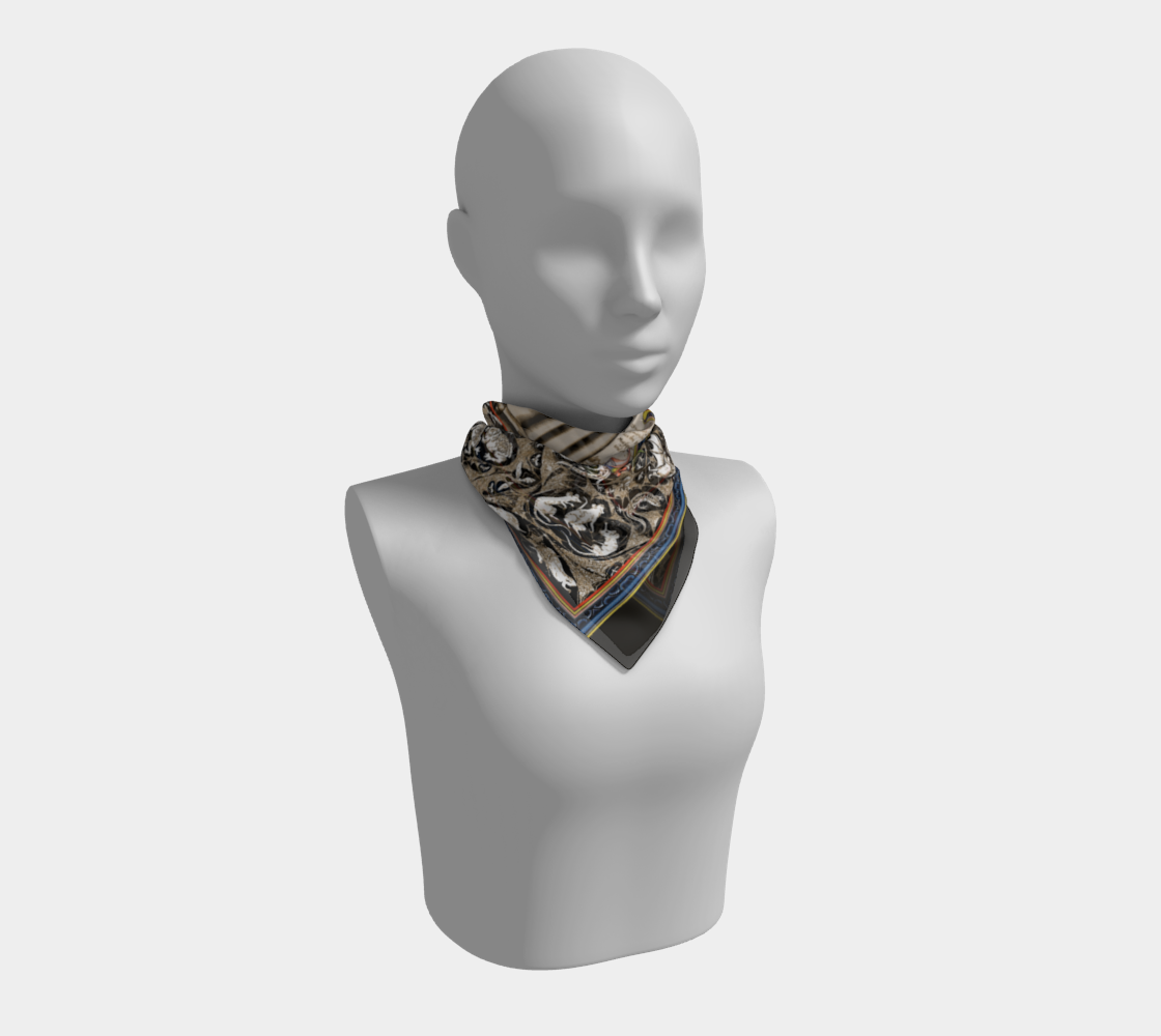 P is for Plague Doctor Scarf preview