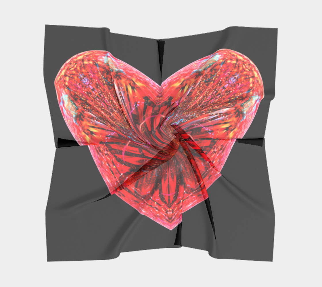 Full Heart Scarf preview #5