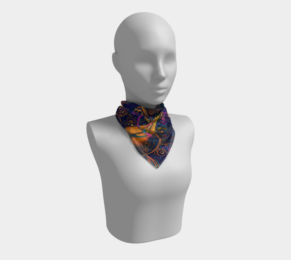 Night Tripper Scarf Miniature #2