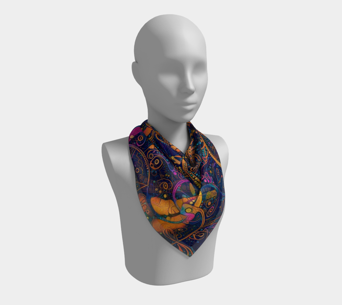 Aperçu de Night Tripper Scarf #2