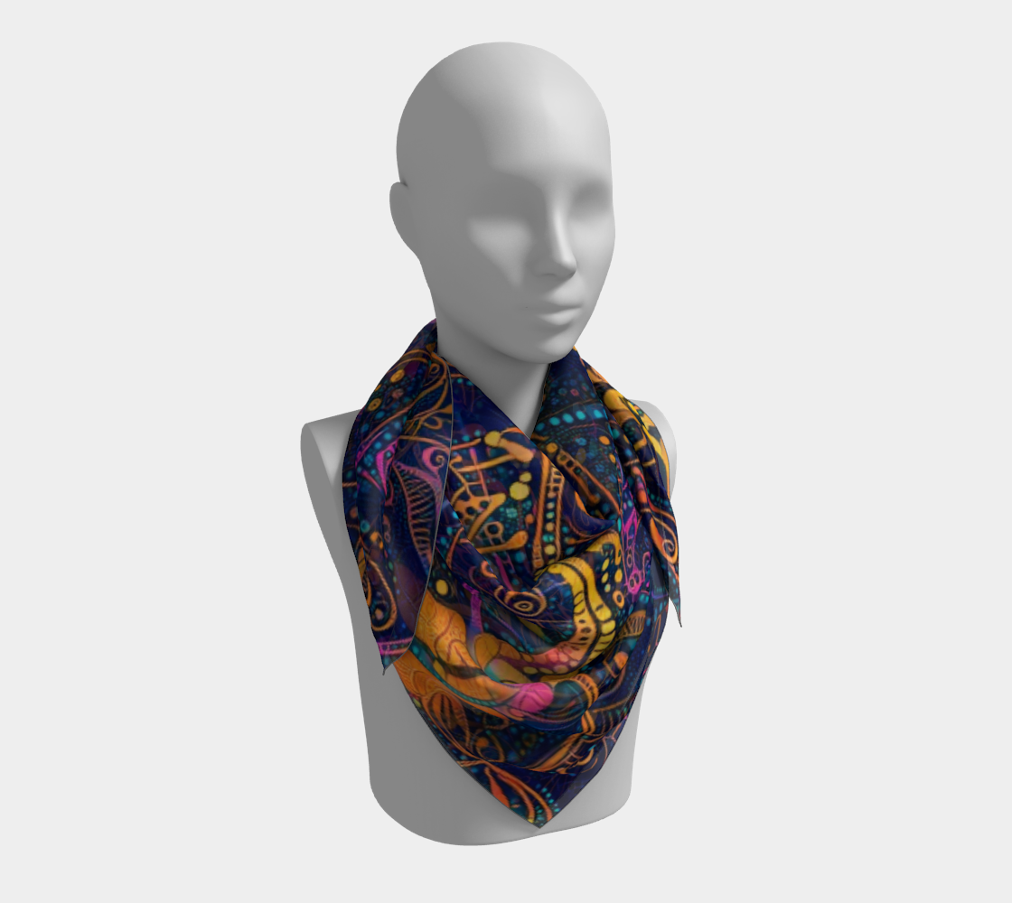 Aperçu de Night Tripper Scarf #3