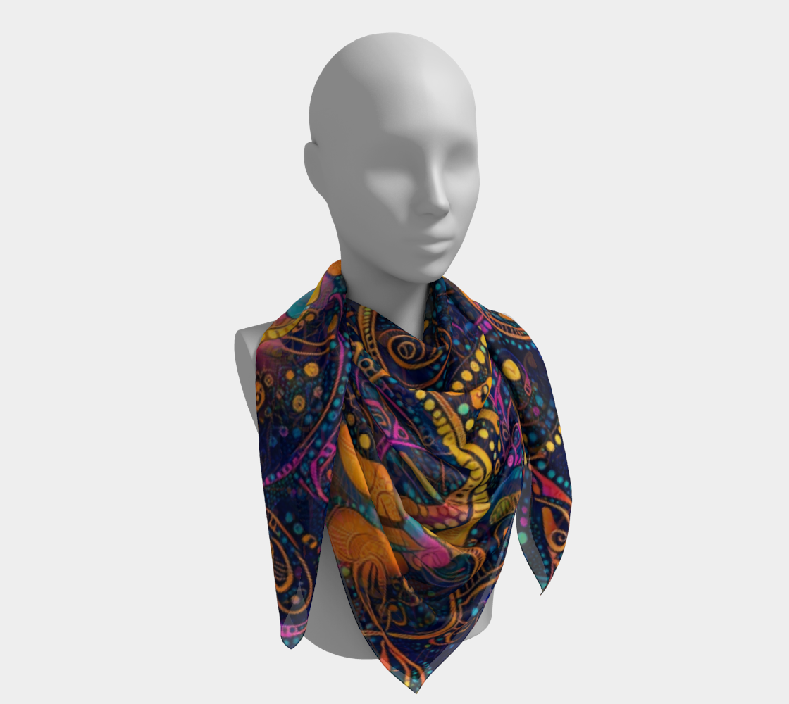 Night Tripper Scarf preview #4