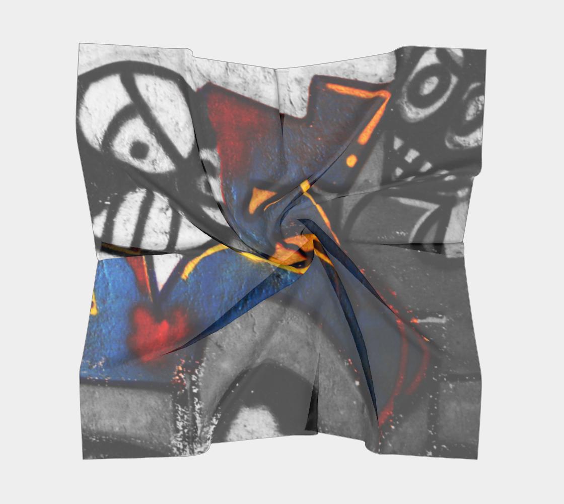 Graffiti 1 Square Scarf preview #5
