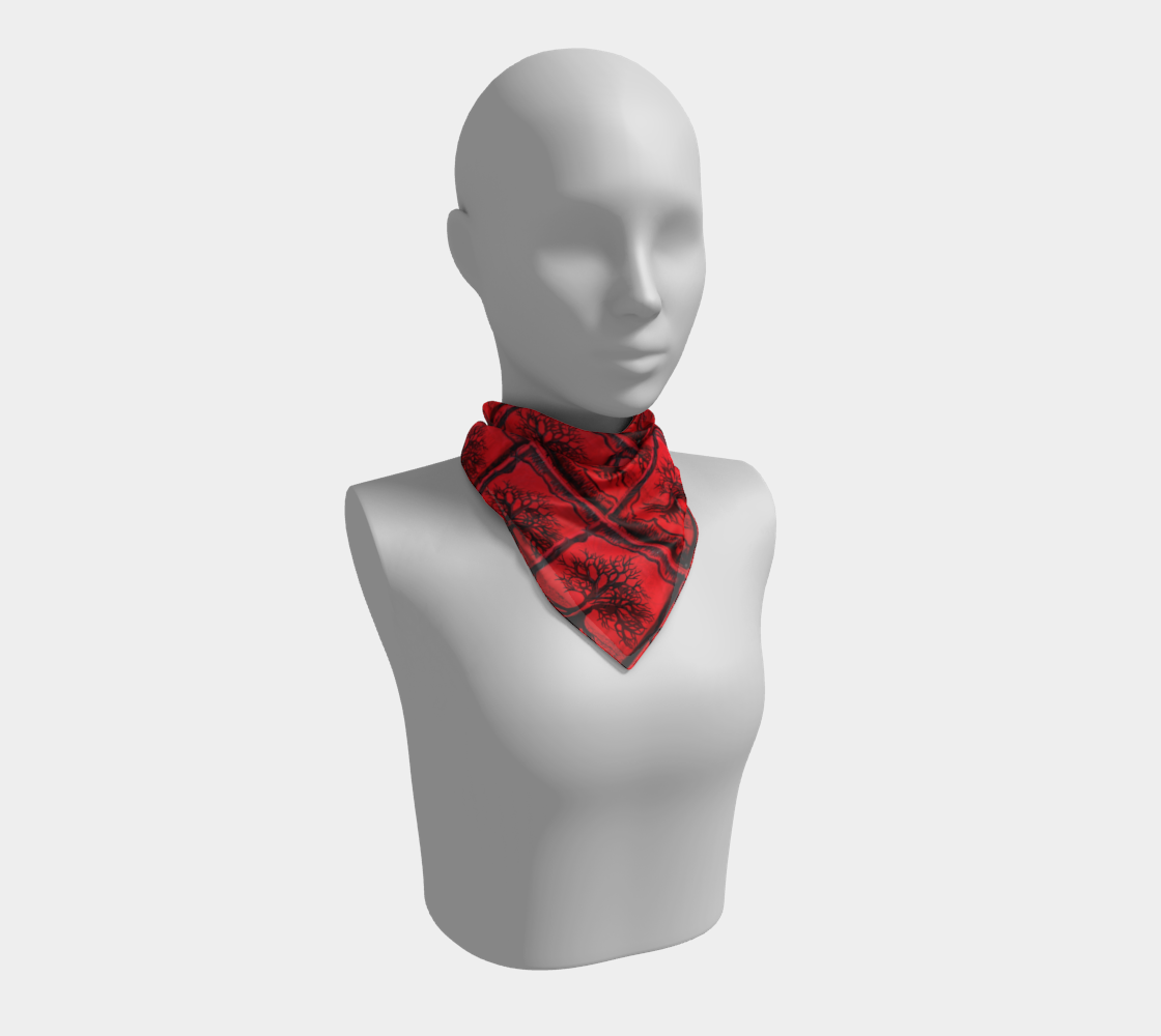 Red Tree Scarf  preview