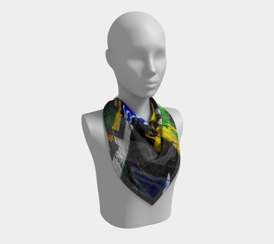 Graffiti 6 Square Scarf preview #2
