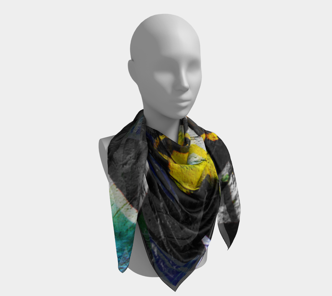 Graffiti 6 Square Scarf preview #4