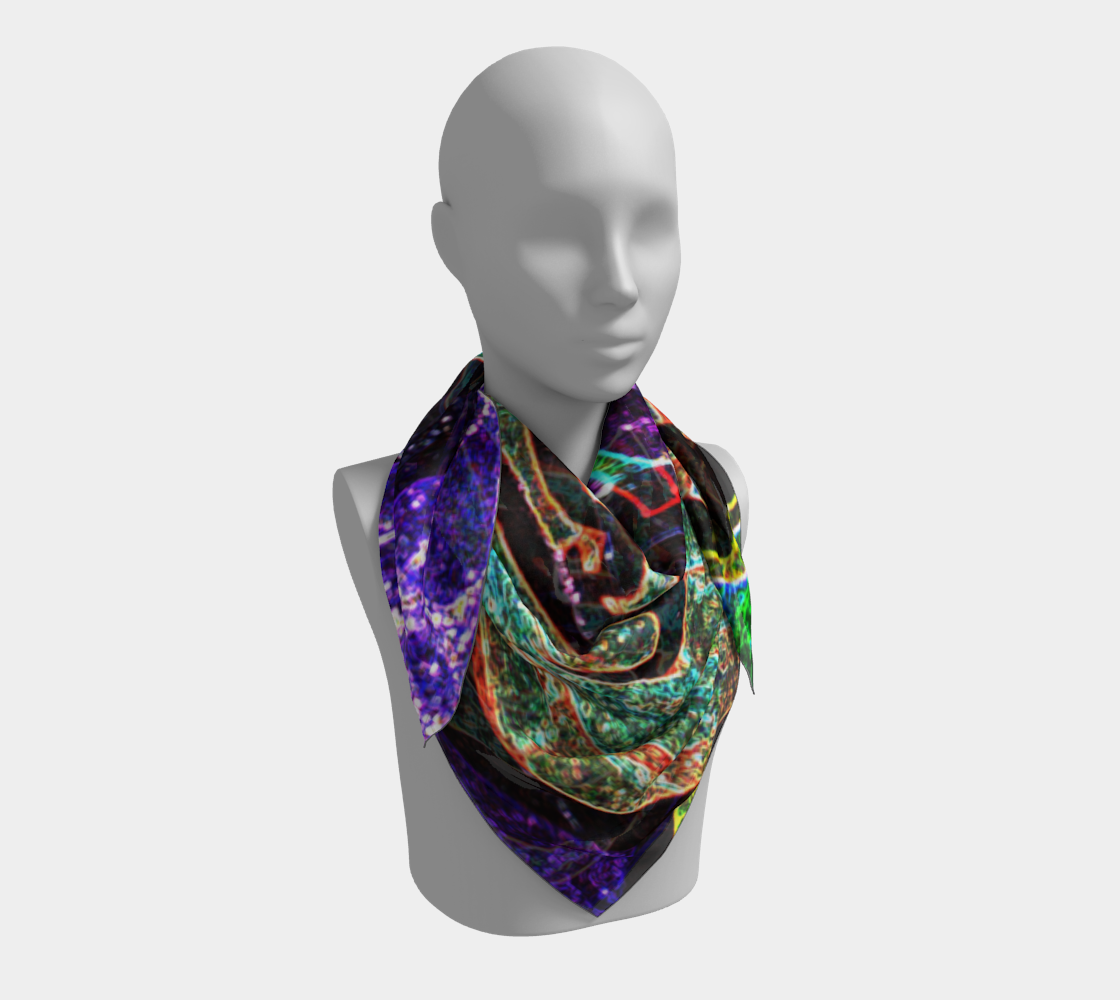 Graffiti 7 Square Scarf preview #3