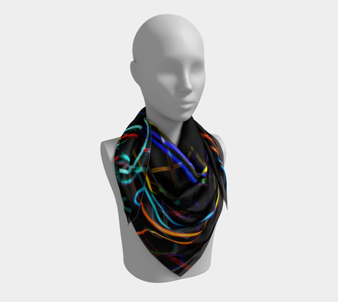 Graffiti 10 Square Scarf preview #3