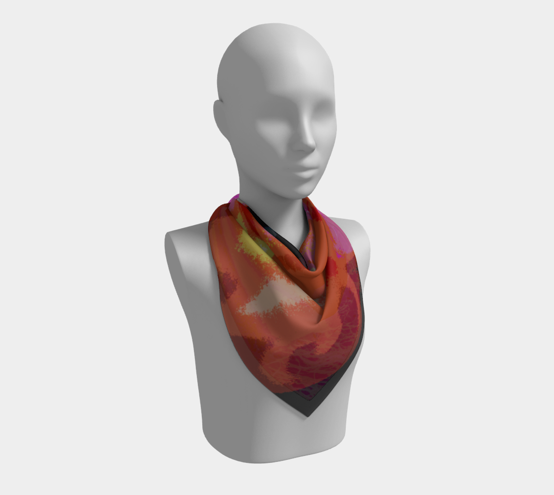 Lucky Square Scarf preview #2