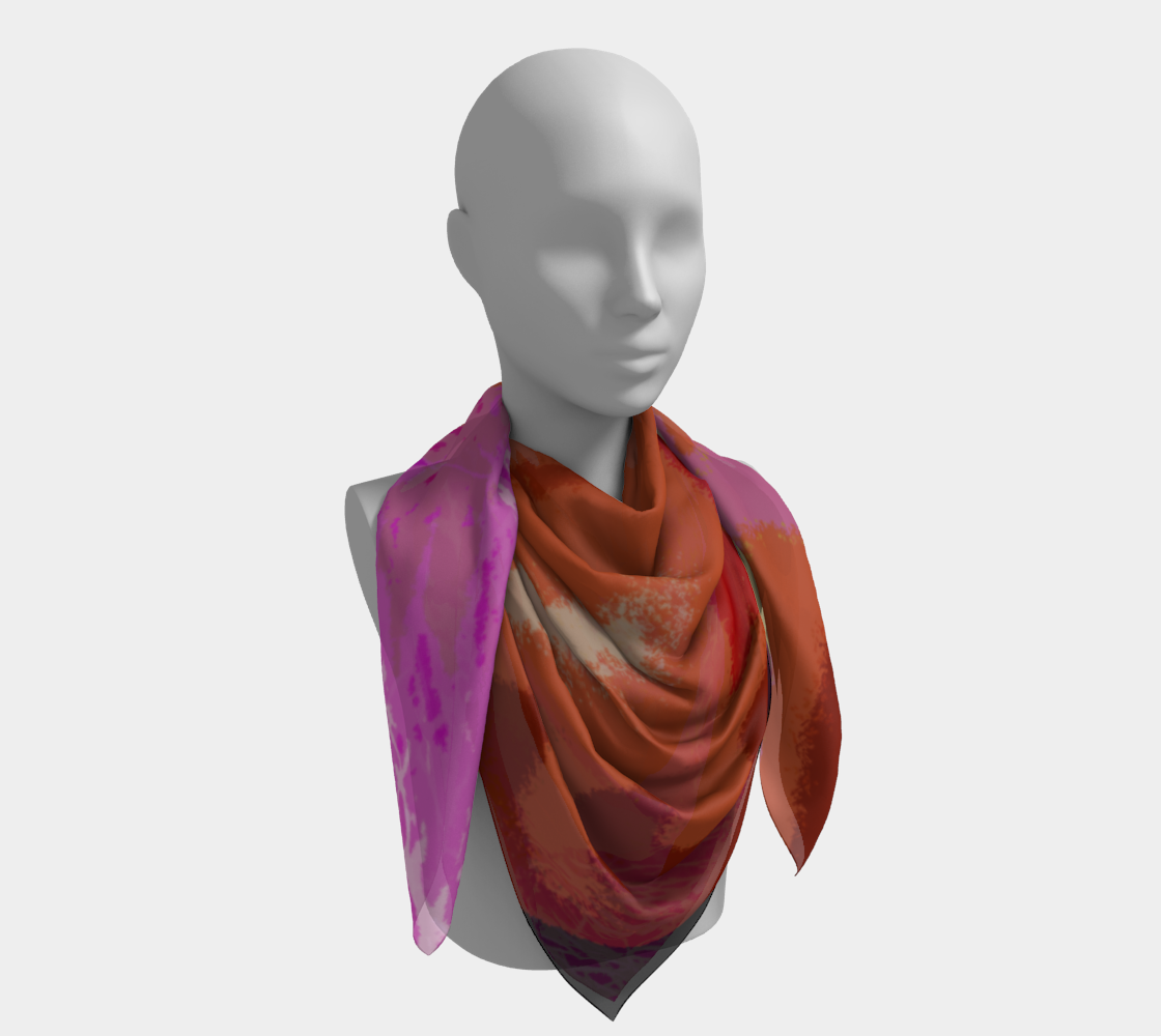 Lucky Square Scarf preview #4