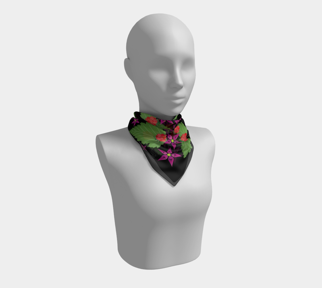 Salmonberry Branch Scarf preview #1
