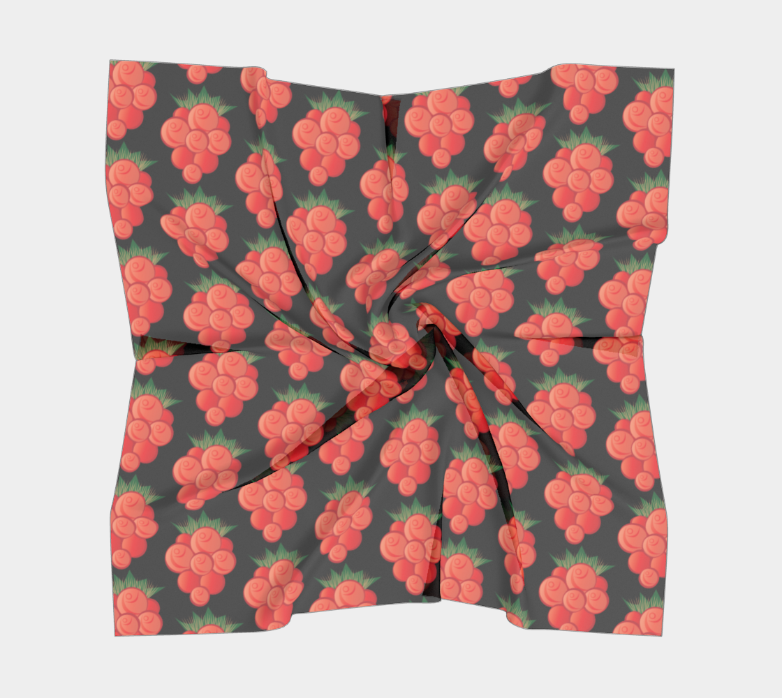 Salmonberry Square Scarf preview #5