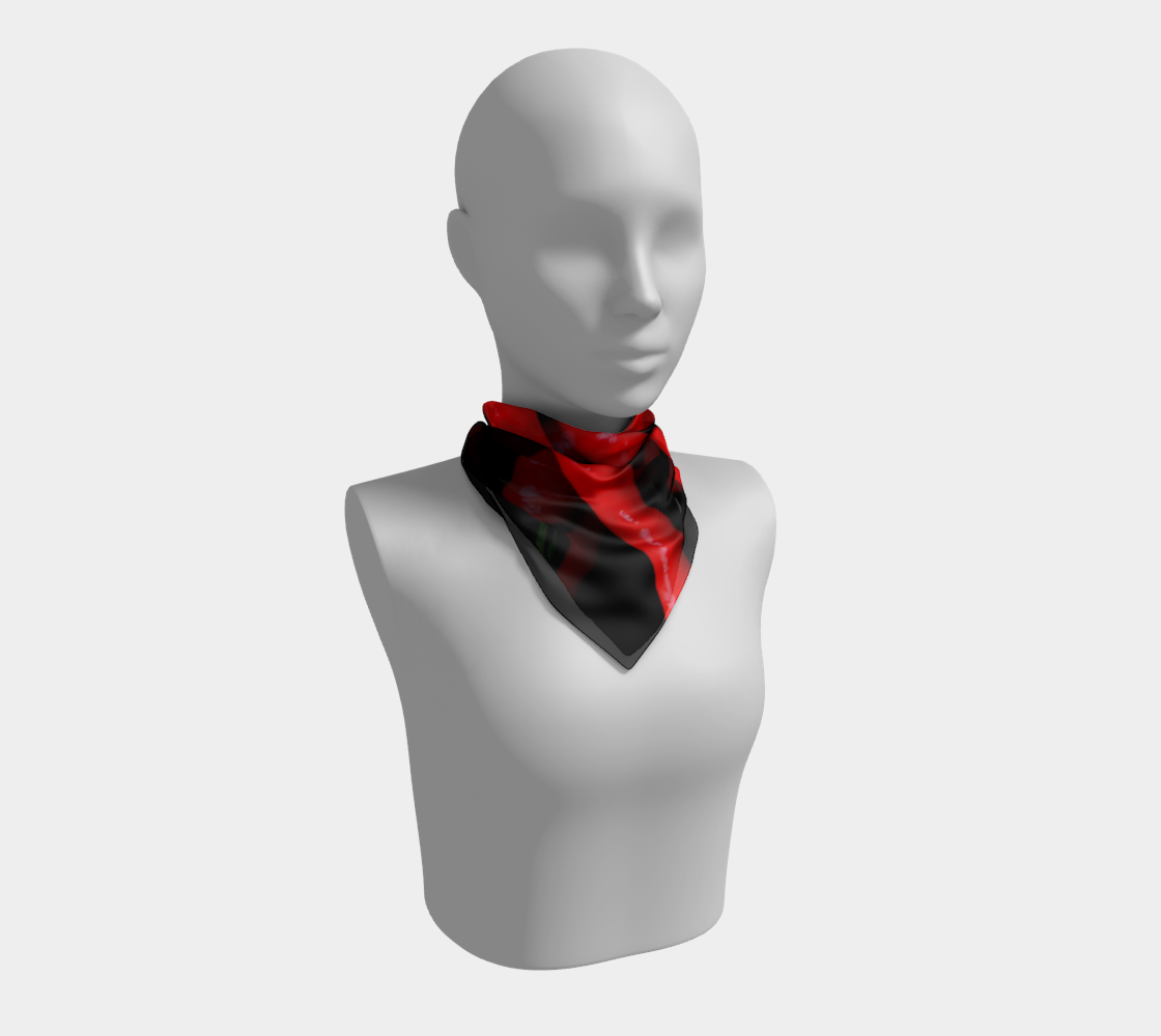 Four Red Chilies Square Scarf preview