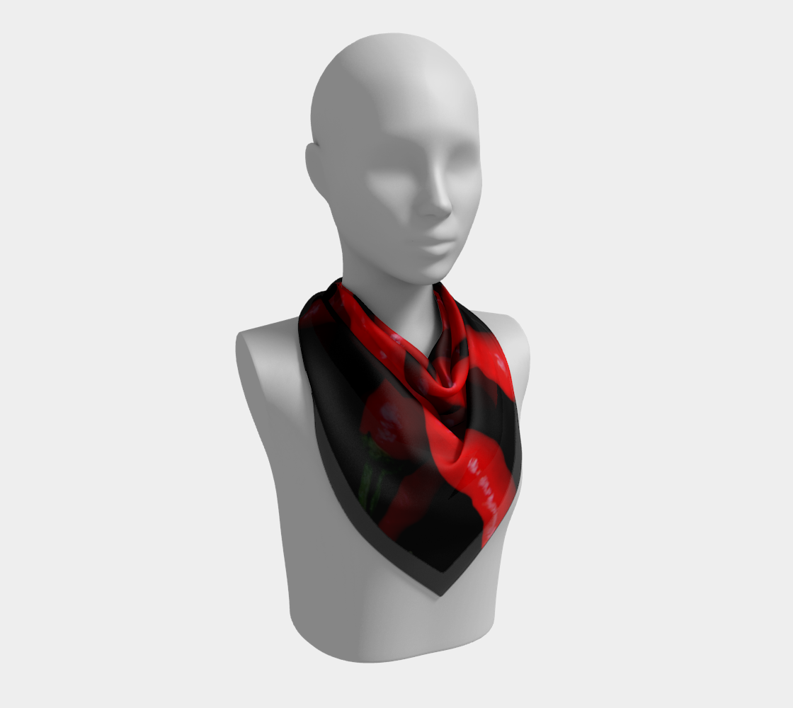 Four Red Chilies Square Scarf preview #2